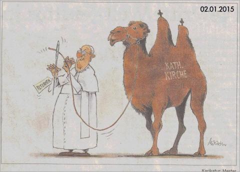 Eher Geht Ein Kamel Durch Ein Nadelöhr